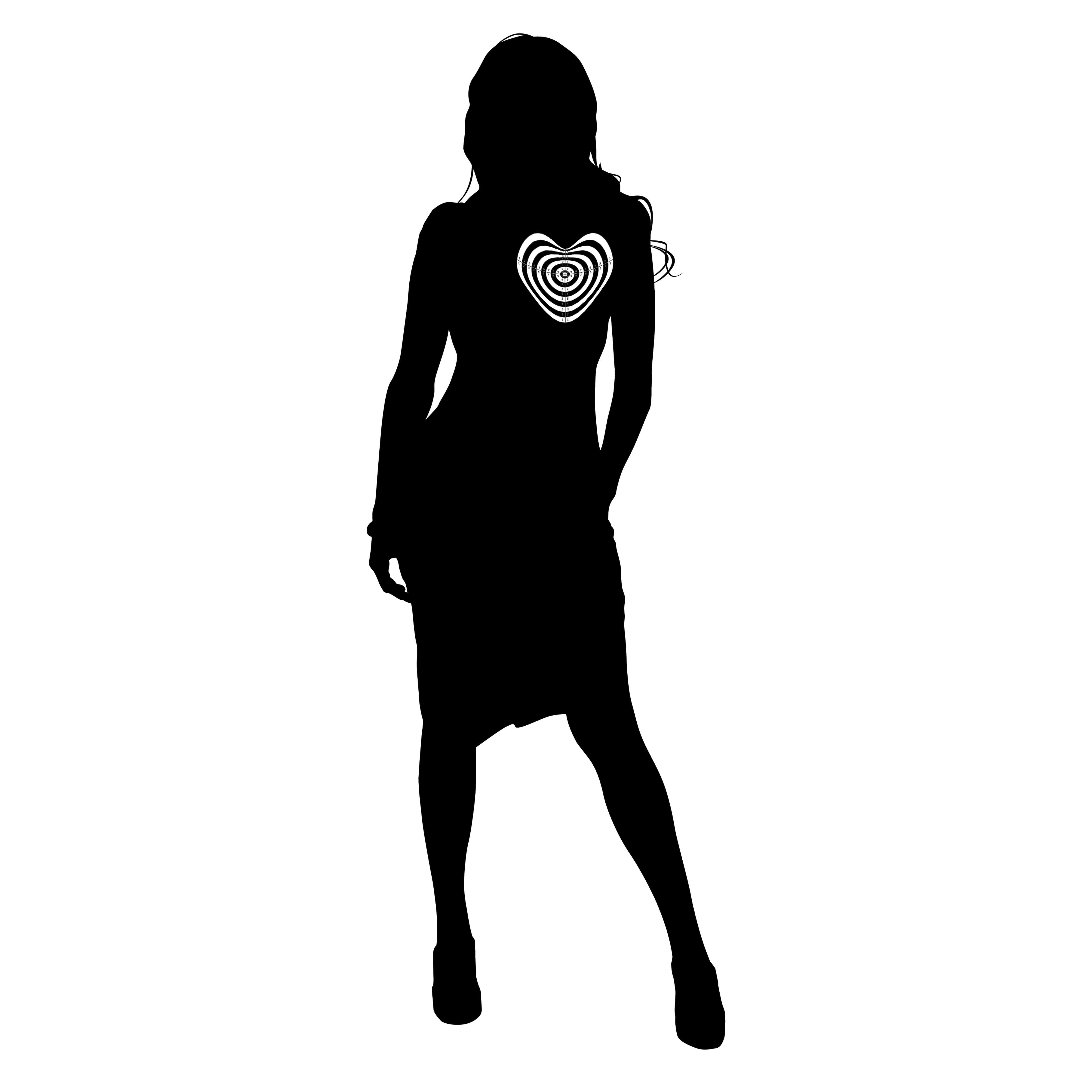 sombra femenina con diana