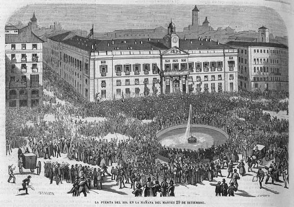 La Puerta del Sol 1868