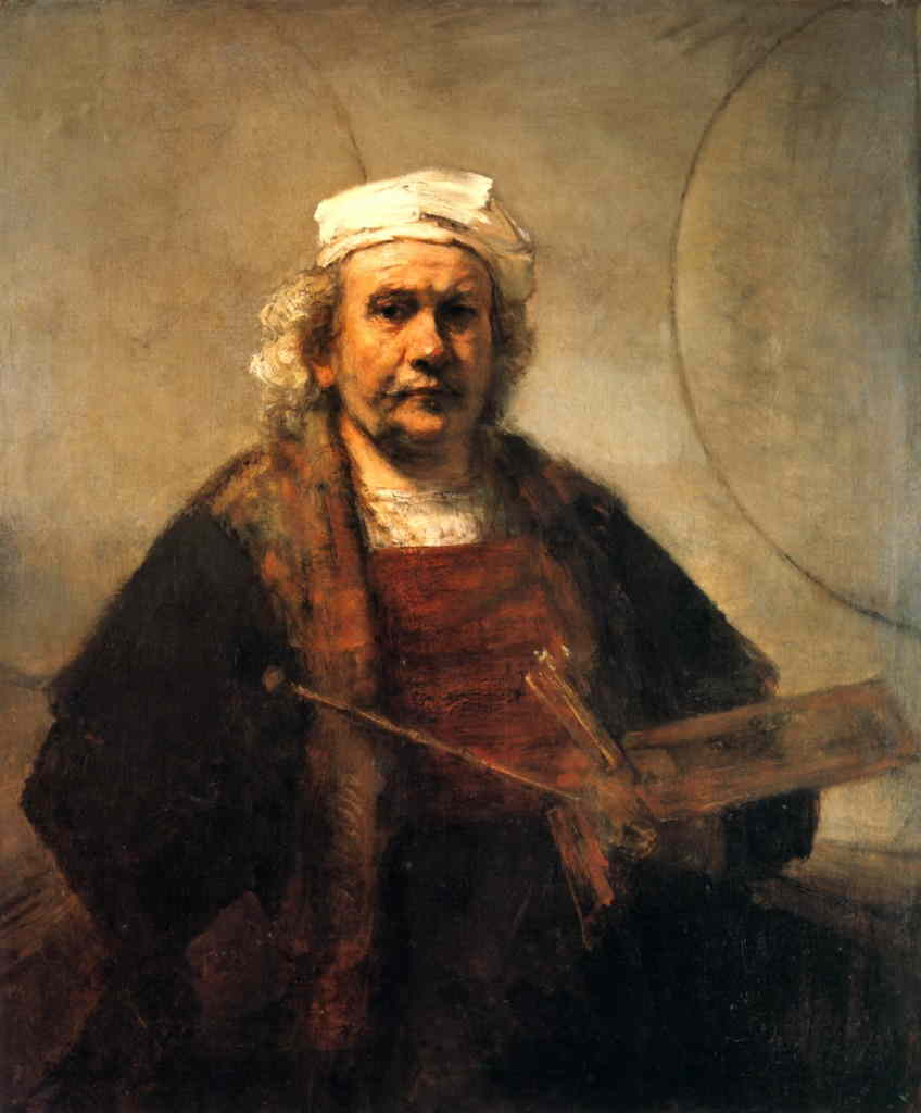 Autorretrato - Rembrandt