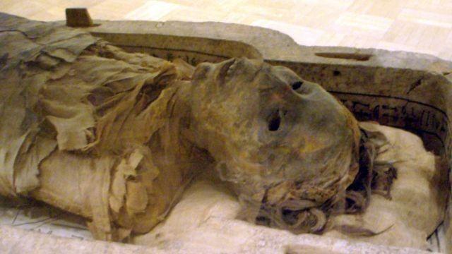 momia egipcia FK3 con marihuana en su cuerpo