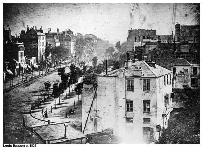 Un poco más sobre la credibilidad de una fotografía -1 Daguerre