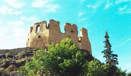 El castillo antes de su restauración