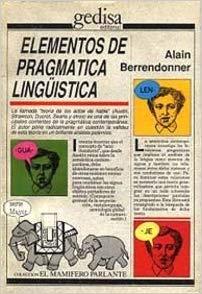 Elementos de pragmática lingüística