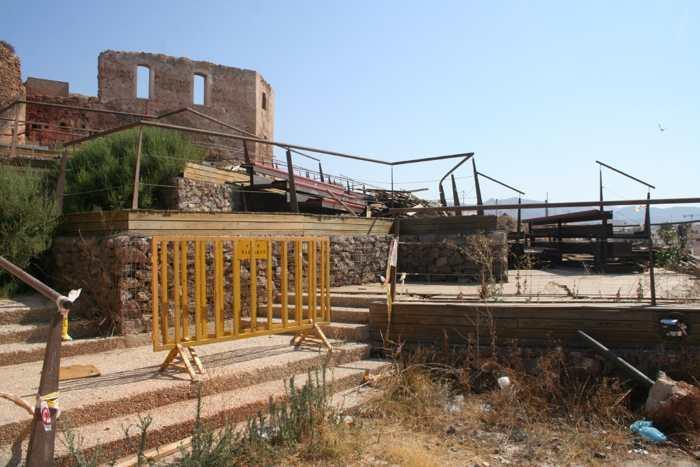 Situación actual del anfiteatro