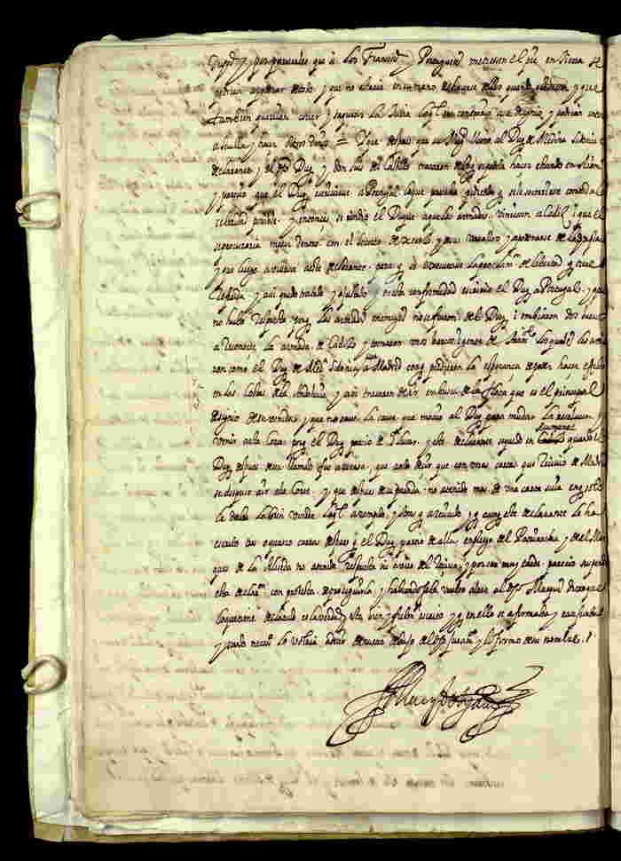 Declaración del marqués de Ayamonte en Illescas