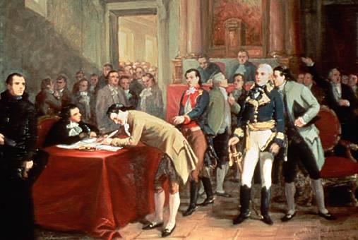 Firma del plan de Iguala
