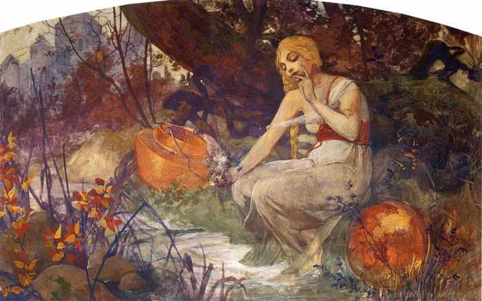 La profetisa. 1896