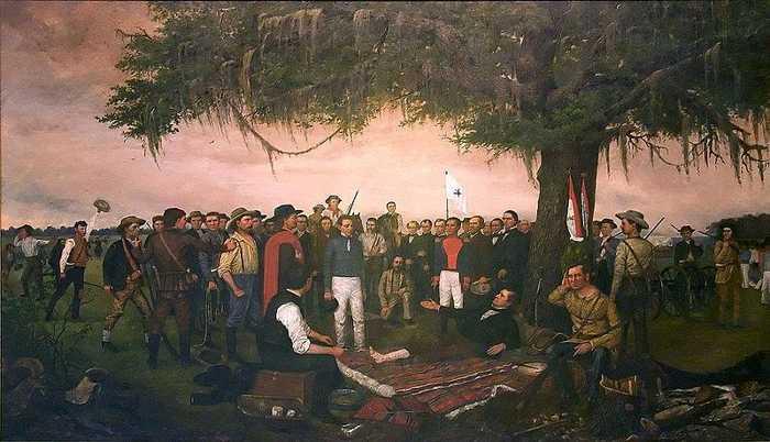 Rendición de Santa Anna