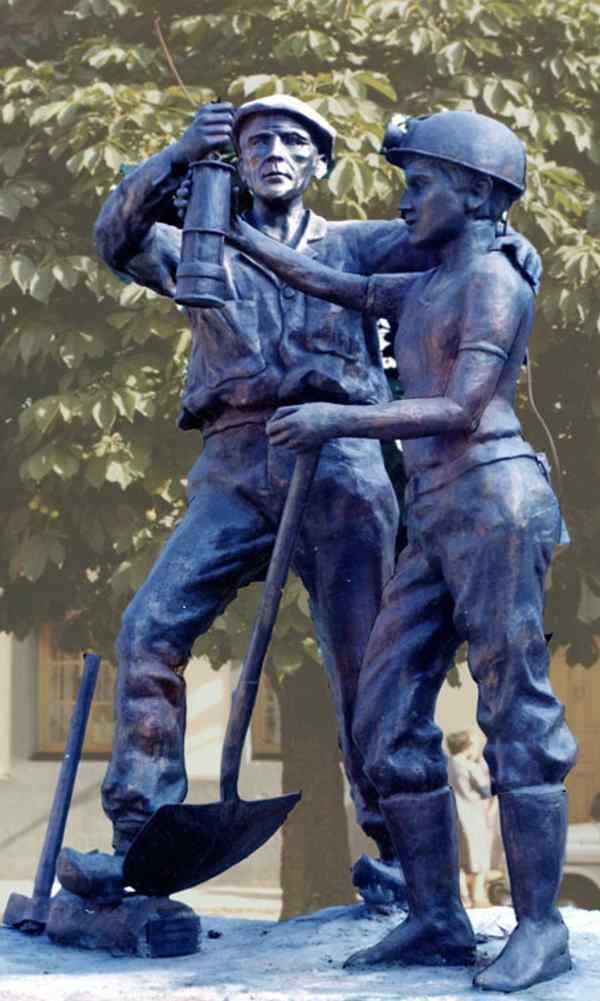 Monumento al minero jubilado