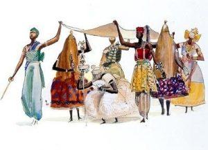Brasil-Cuba: ¡El teatro negro de los Orixá! » orixá