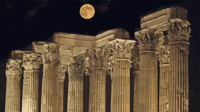 Columnas de Zeus Olímpico