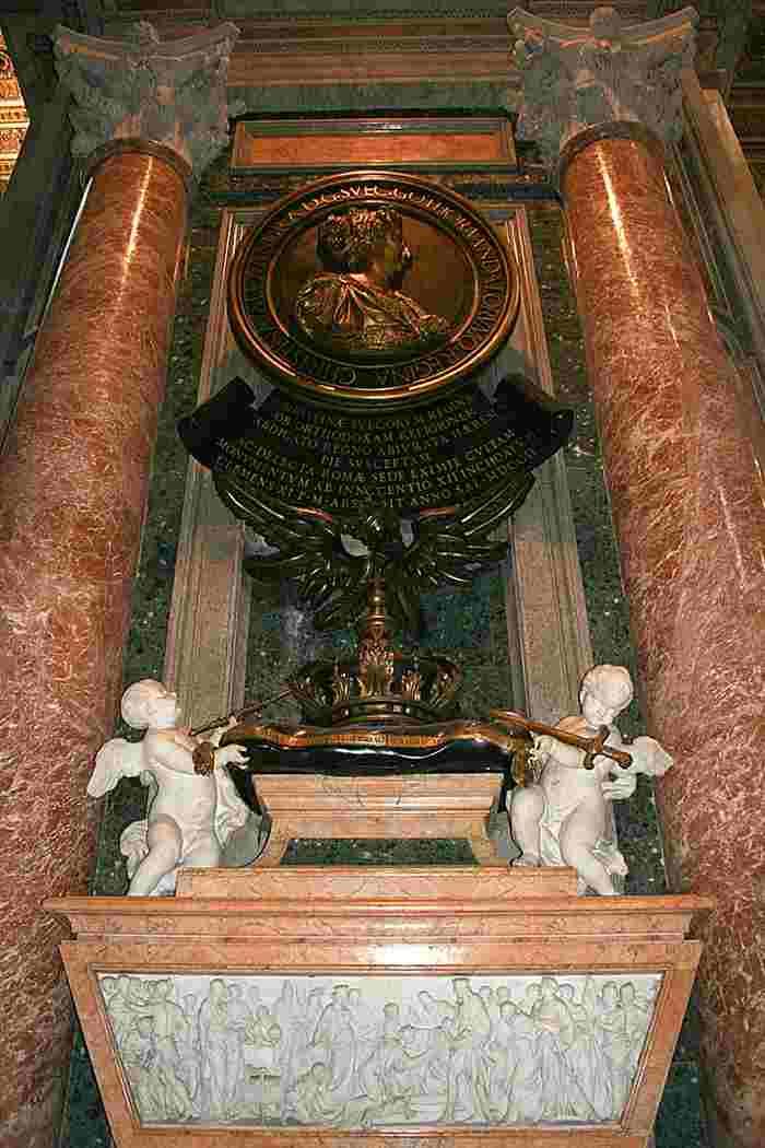 Monumento a la reina Cristina de Suecia