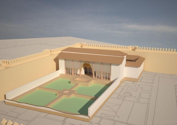 Recreacion Palacio Dar al-Imara