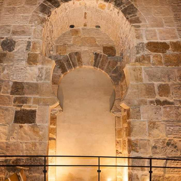 Restos de Dar al-Imara Alcázar Sevilla