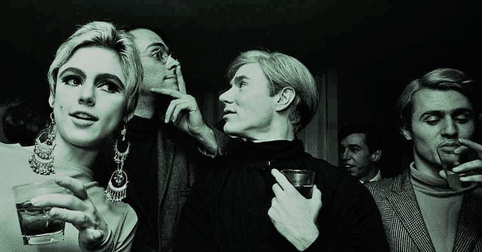 Steve Shapiro, Edie Sedgwick & Andy Warhol en 1965 / Foto: Billy Name