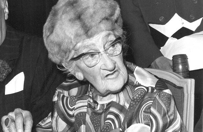 Agatha Christie. Foto: Doug McKenzie