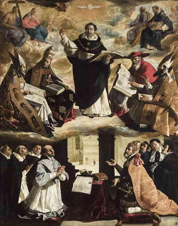 Apoteosis de Santo Tomás de Aquino (Zurbarán)