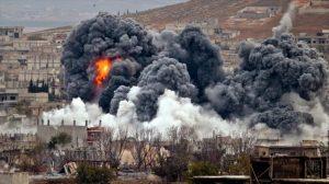 Ataque al ejercito sirio por EEUU y aliados
