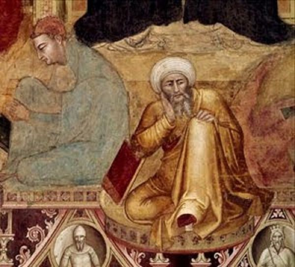 Averroes (fresco de Andrea Bonaiuto)