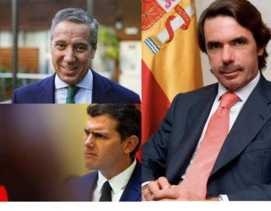 Aznar, Zaplana y Rivera