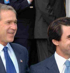 Bush y Aznar