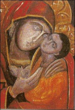 Estudio de Virgen con Niño