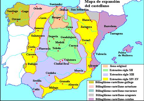 Expansión del castellano