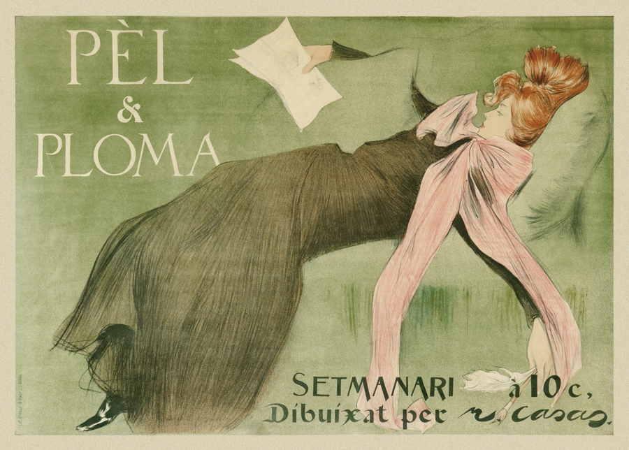 Cartel Pèl & Ploma.1899