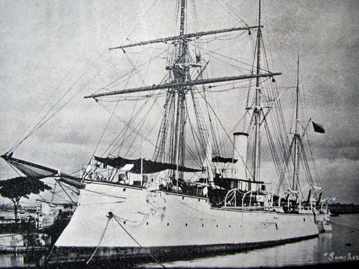 Naufragio de un crucero español en La Habana 2