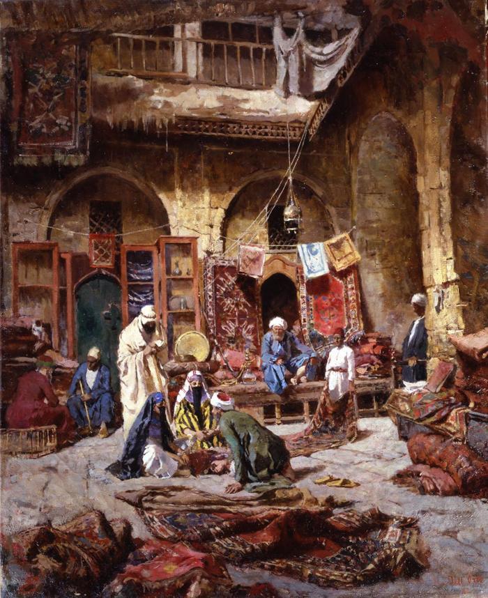 El bazar de tapices - Giovanni dell Orto