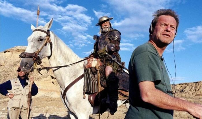 El hombre que mató a Don Quijote - Rodaje