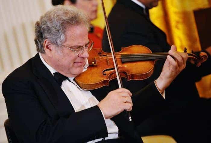 El violinista Itzhak Perlman
