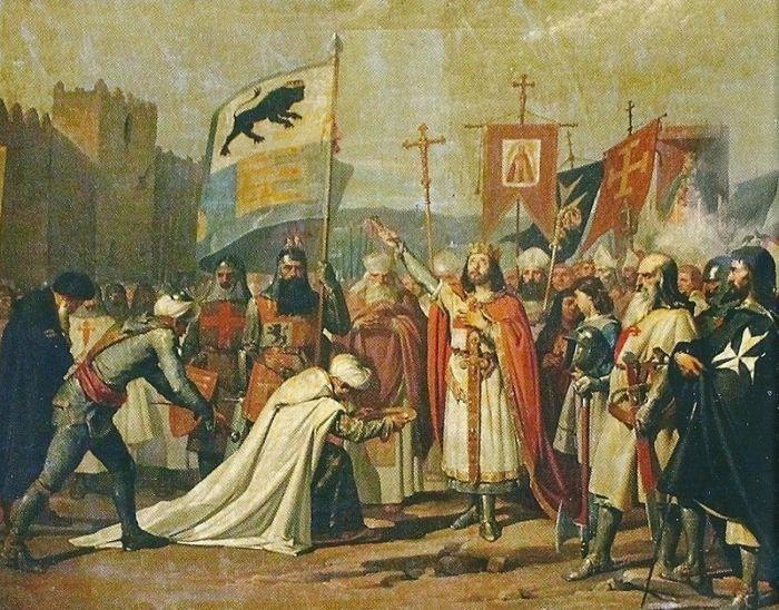 Fernando III recibe las llaves de Córdoba