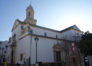 Iglesia de SAn Andrés sobre el solar de San Zoilo