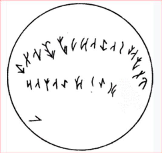 Inscripción del cuenco de Issyk.