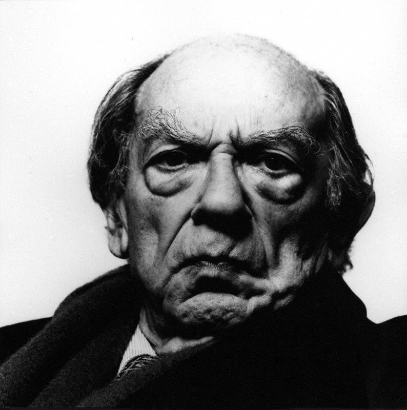Sir Isaiah Berlin by Richard Avedon