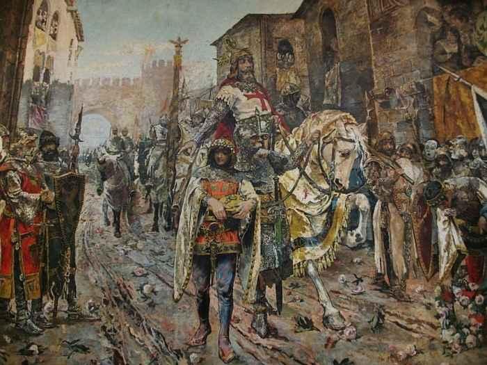 Jaime I - entrada triunfal