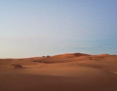 Khamlia, el pueblo libre. Visitando el desierto de Marruecos » músicos gnawis