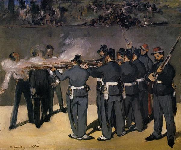 La ejecución del emperador Maximiliano