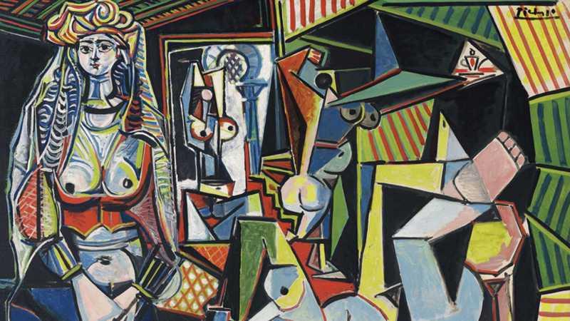 Las mujeres de Argel - Pablo Picasso