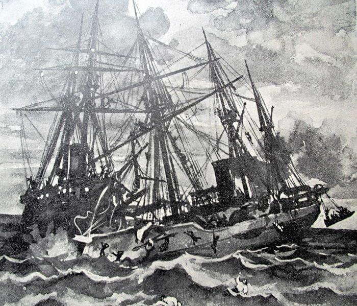 Naufragio de un crucero español en La Habana 8