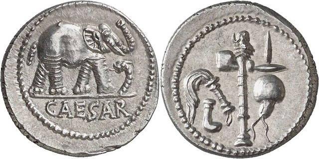 Moneda de Julio César