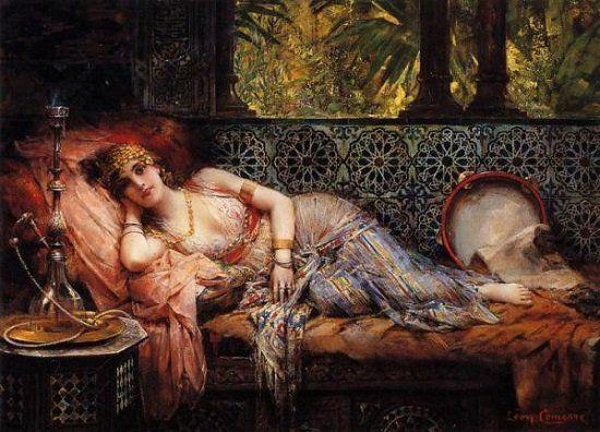 Mujer en el harem
