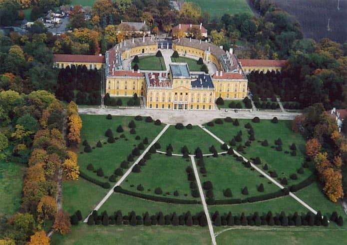 Palacio de Eszterháza en Fertöd (Hungría)