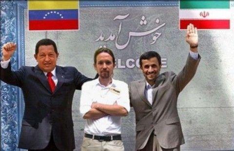 Podemos, Venezuela e Irán