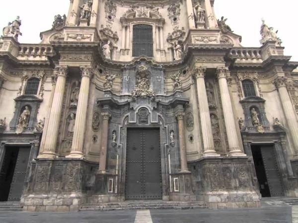 Puerta del Perdón de la Catedral de Murcia