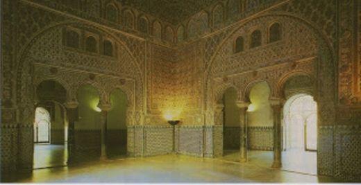 Salón de las Pléyades- Alcázar de Sevilla