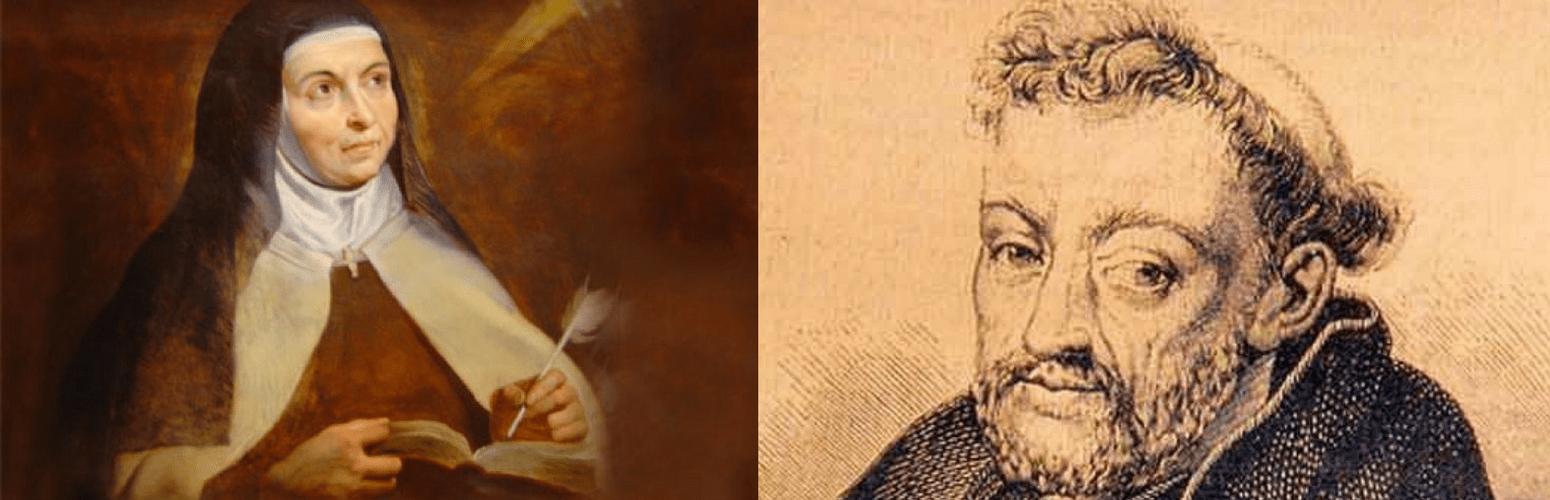 Santa Teresa y Fray Luis de León