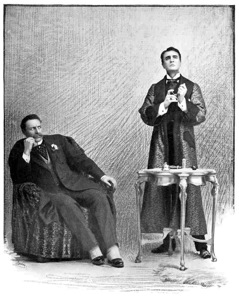 Sherlock Holmes y el Dr. Watson