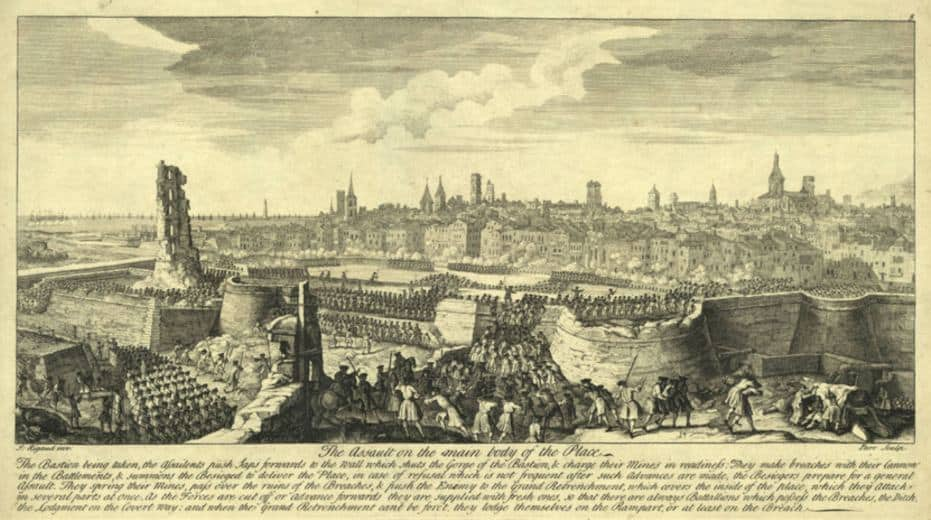 Sitio de Barcelona-11-septiembre-1714